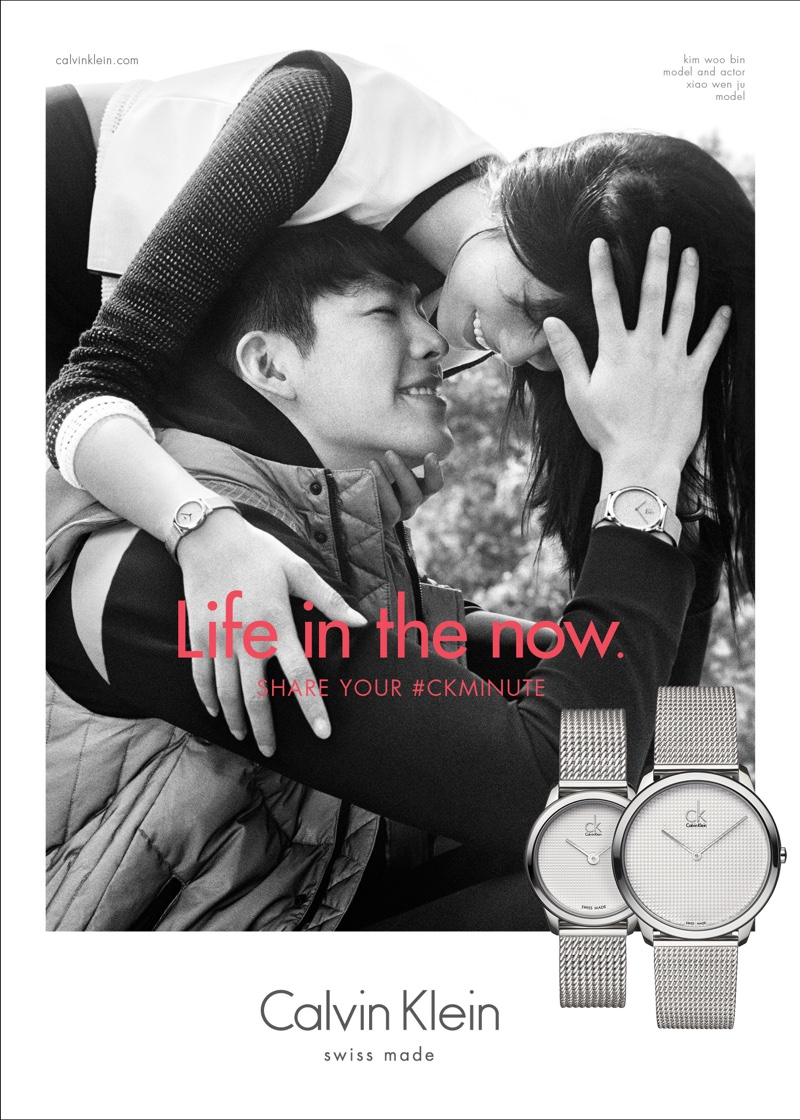 Calvin Klein Watches & Jewelry 2016 campaign
