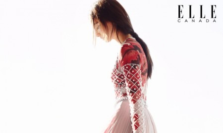 Mackenzie wears Lucian Matis dress