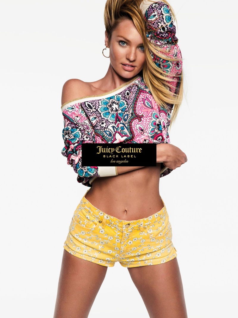 Candice Swanepoel stars in Juicy Couture's spring 2016 campaign