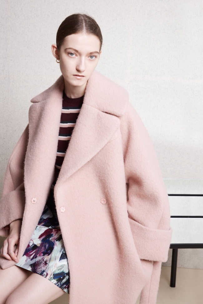 A look from Carven's pre-fall 2015 collection