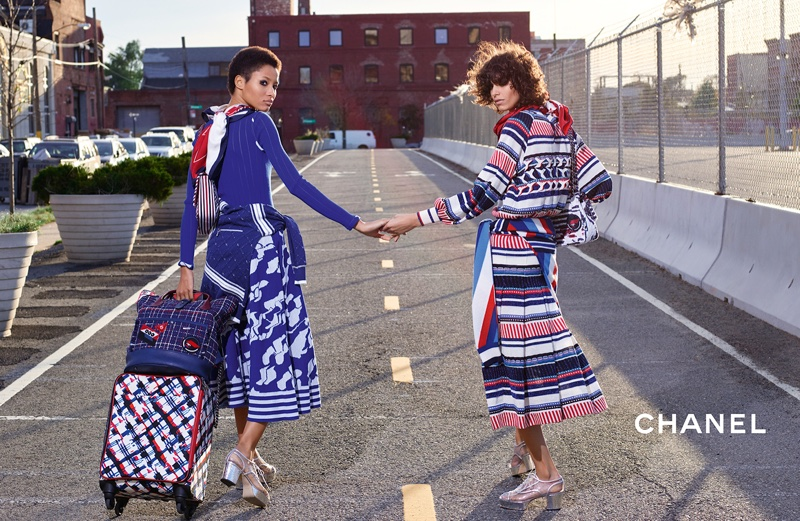 Chanel Travels in Style with Spring 2016 Campaign