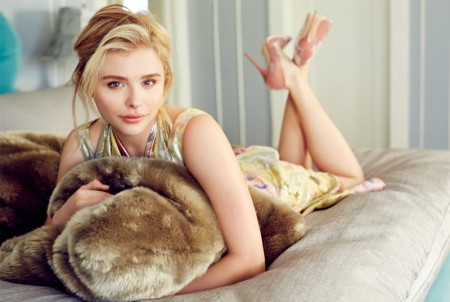 Chloe Grace Moretz Embraces Spring Fashion in Glamour Mexico