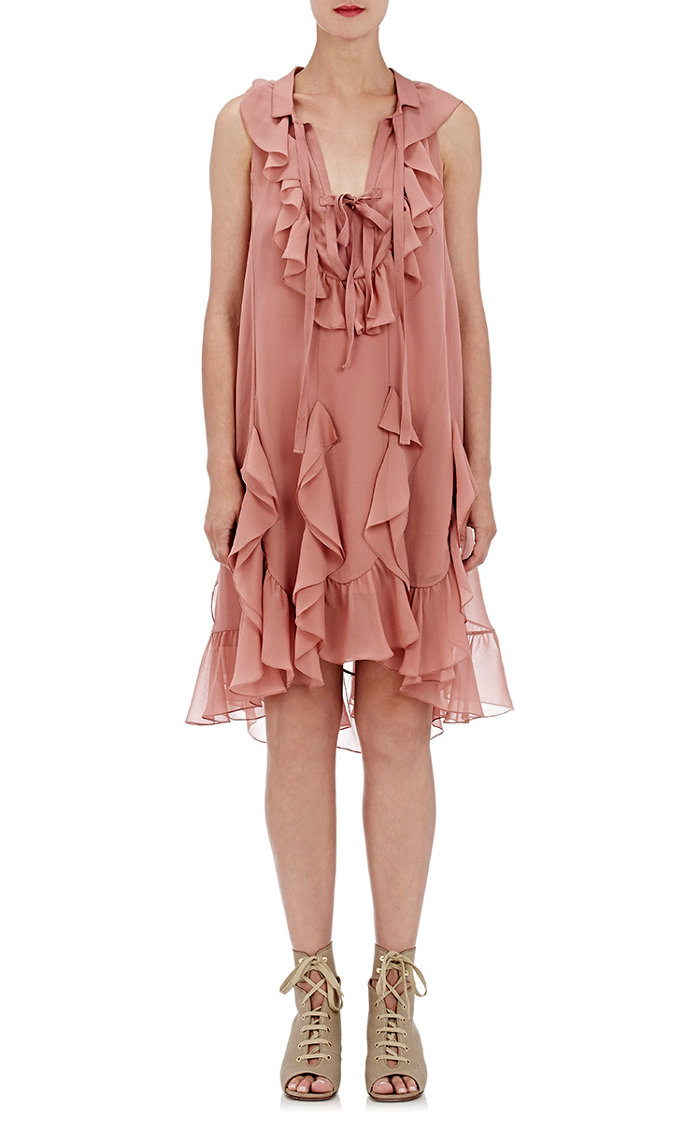 Chloe Sleeveless Ruffle Dress