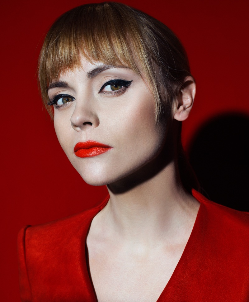 Christina Ricci Stuns in All Red Styles for S Moda Cover Story Christina Ricci