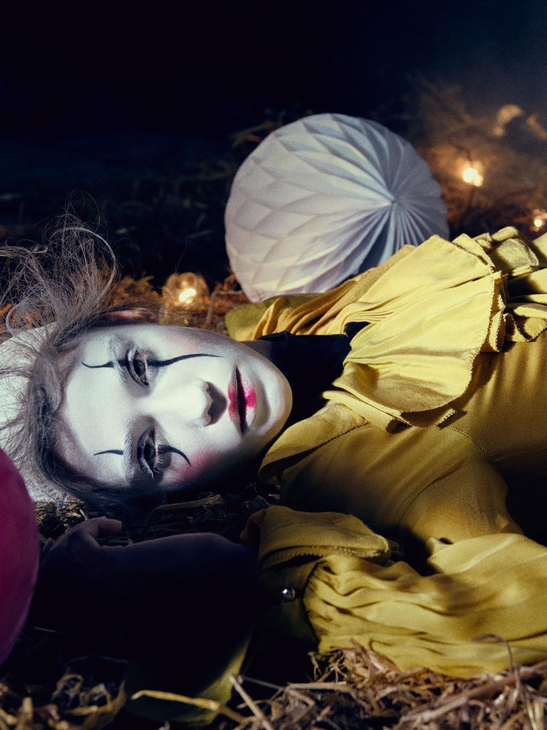Send in the Clowns: Harrods Magazine Spotlights Circus Style
