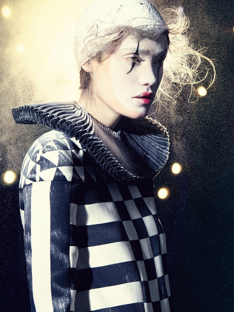 Send In The Clowns Harrods Magazine Spotlights Circus Style