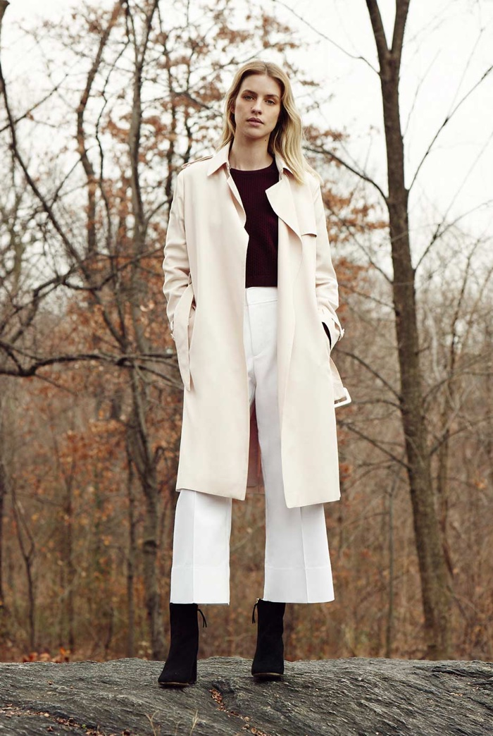 In the Clear: Club Monaco Does Chic Cold Weather Dressing