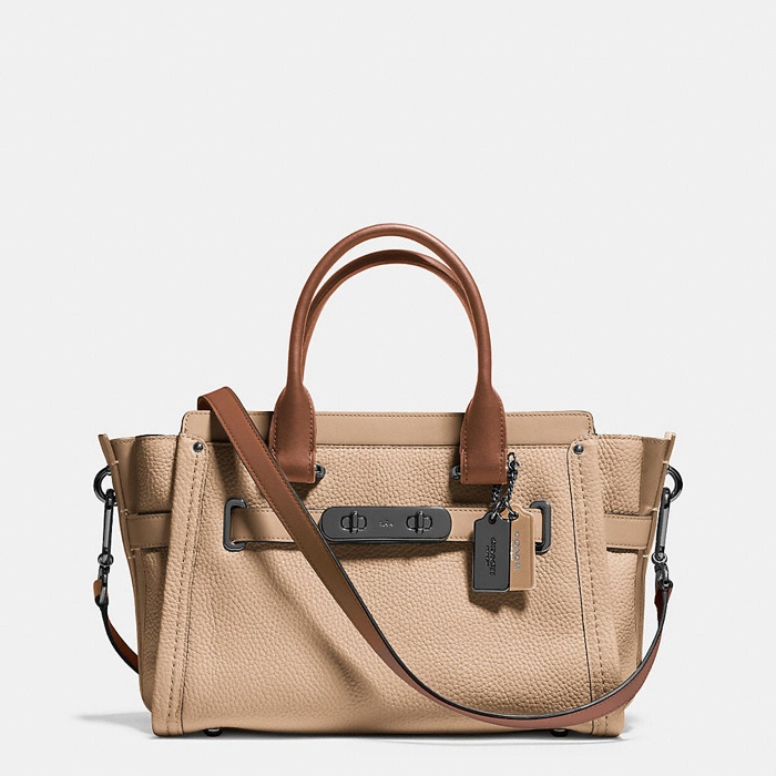 Coach Swagger 27 Color Block Bag