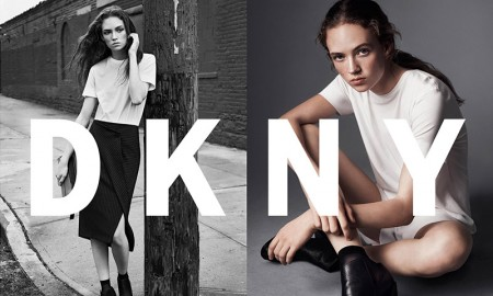 Adrienne Jüliger stars in DKNY's spring-summer 2016 campaign