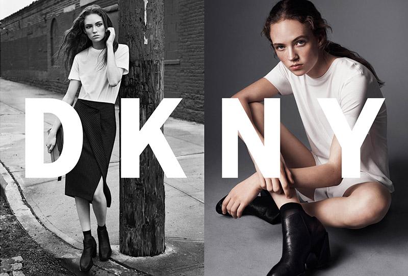 Adrienne Jüliger stars in DKNY's spring-summer 2016 campaign