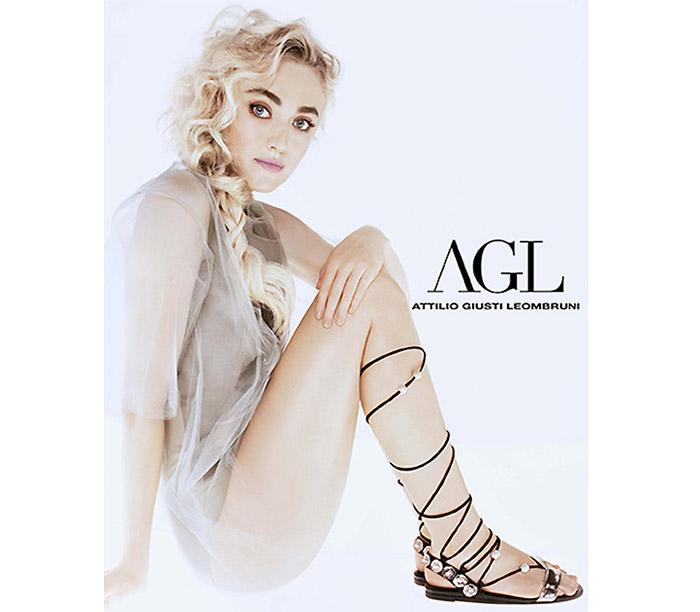 Dakota Fanning stars in AGL Shoes' spring-summer 2016 campaign