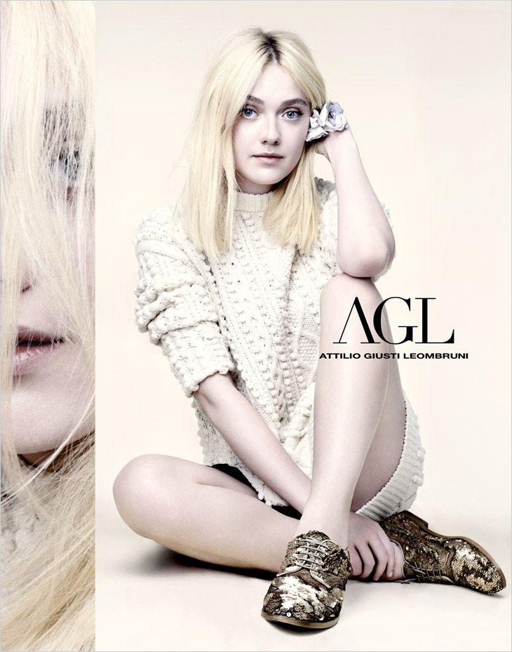 Dakota Fanning stars in AGL spring-summer 2014 campaign