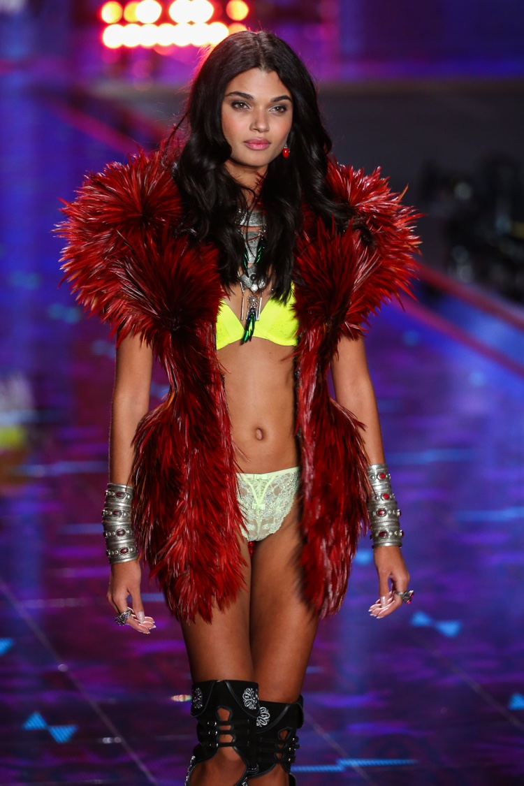 Daniela Braga walks the runway at the 2014 Victoria's Secret Fashion Show. Photo: FashionStock.com / Shutterstock.com