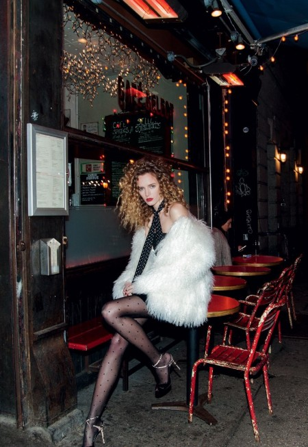 Daria Strokous is City Glam in BAZAAR Russia Cover Story