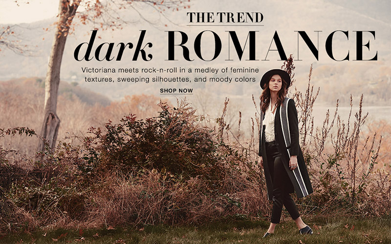 Dark Romance: Shopbop Features the Boho Trend