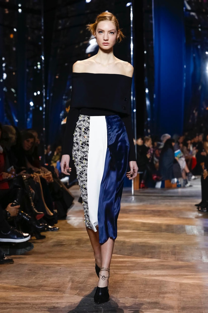 Dior Relies on the House Codes for Spring Couture