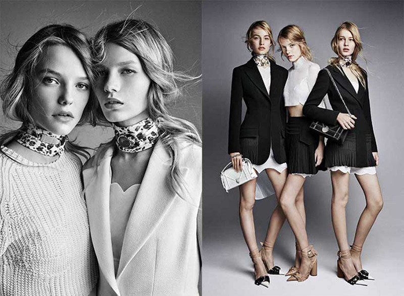An image from Dior's spring-summer 2016 campaign