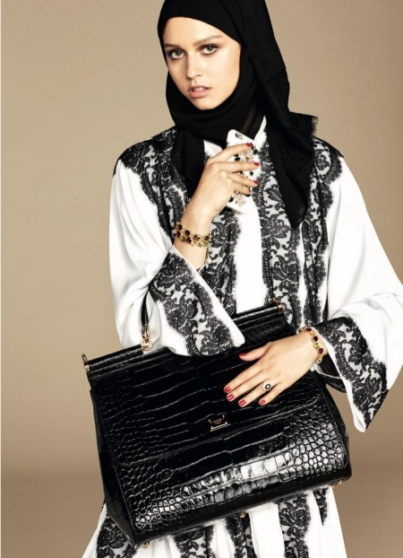 Dolce & Gabbana Creates First Hijab & Abaya Collection