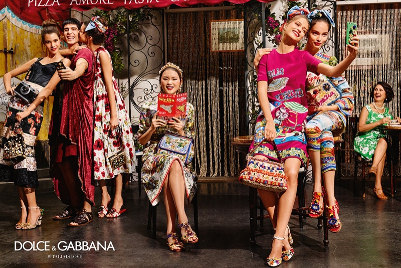 Dolce & Gabbana releases its spring 2016 campaign