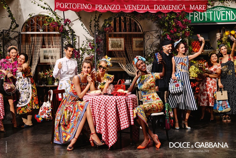 The fashion brand celebrates Italy in the new advertisements