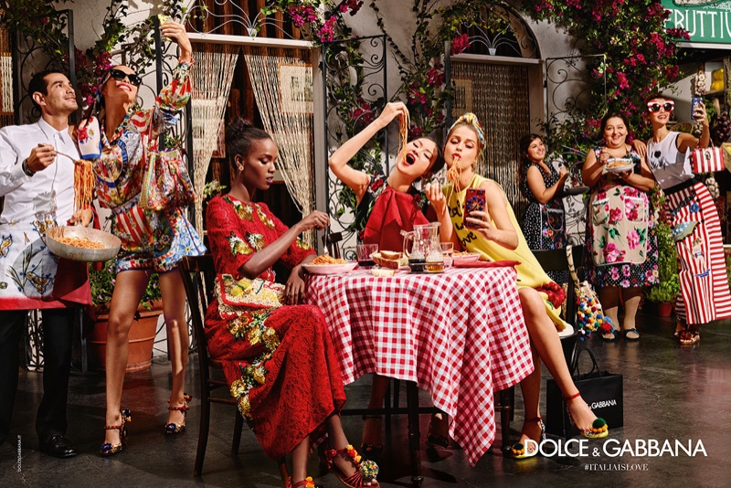 Dolce & Gabbana's spring 2016 campaign features a diverse cast living the Italian lifestyle