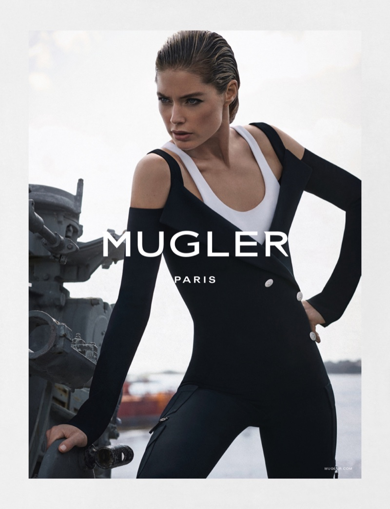 An image from Mugler's spring 2016 campaign