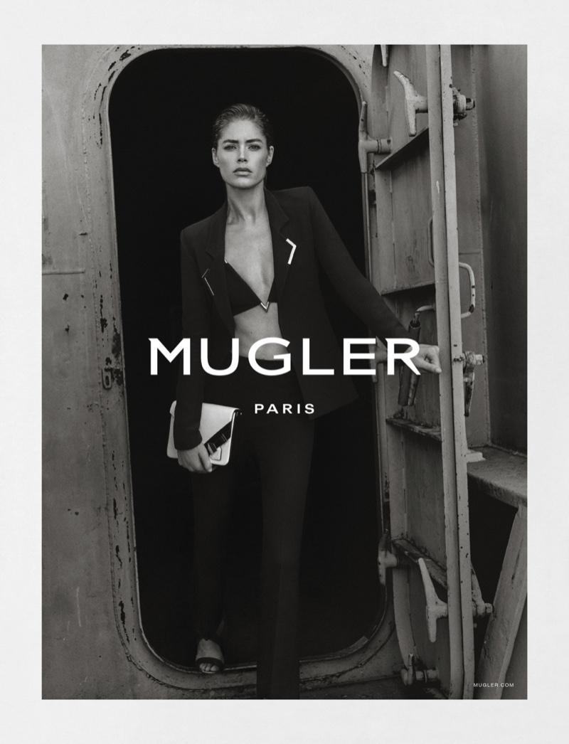 Doutzen Kroes fronts Mugler's spring-summer 2016 campaign