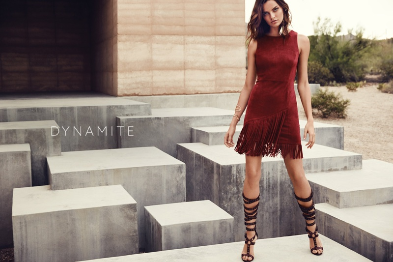 An image from Dynamite's spring-summer 2016 campaign