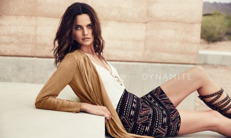 The Canadian clothing brand set its spring campaign in Tuscan, Arizona