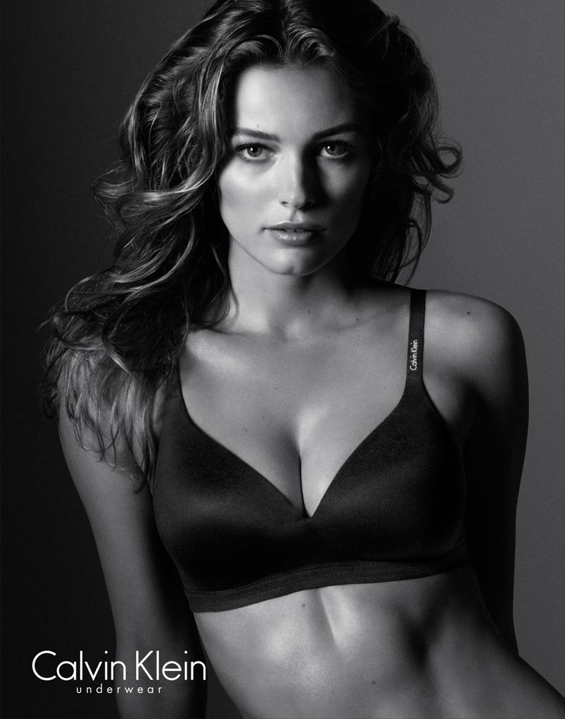 Edita Vilkevicute stars in Calvin Klein Underwear Evergreen spring-summer 2016 campaign