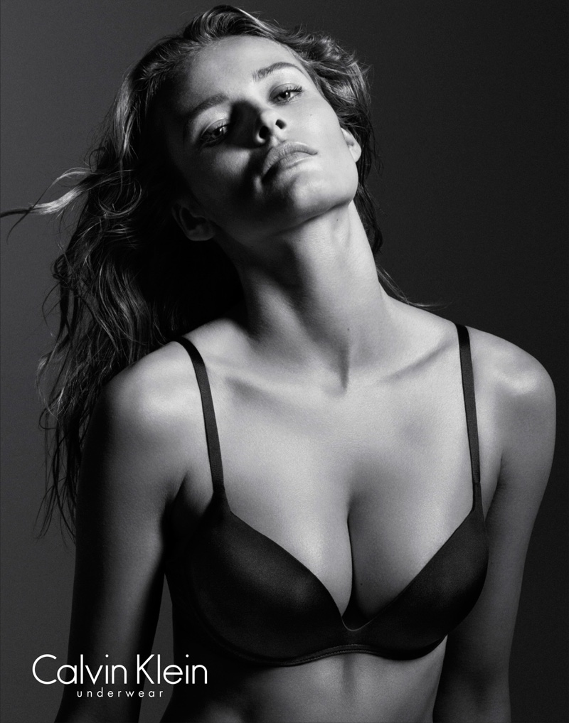 Edita Vilkeviciute Smolders In New Calvin Klein Underwear Images