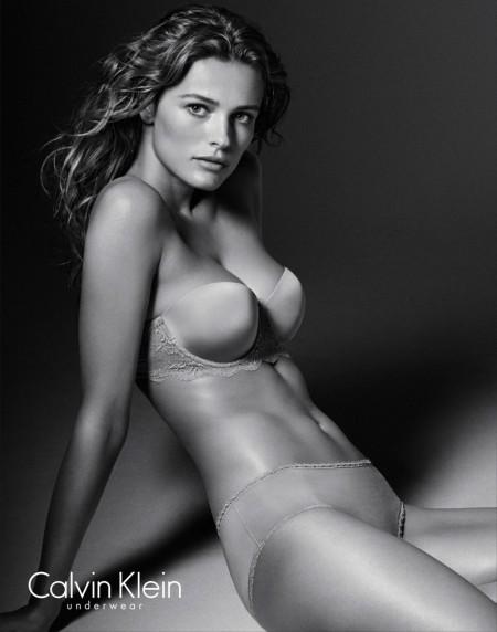 Edita Vilkeviciute Smolders in Latest Calvin Klein Underwear Images