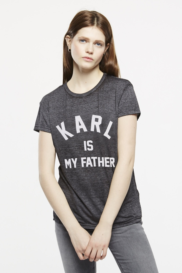 ELEVENPARIS Karl is My Father T-Shirt