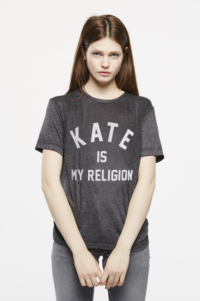 ELEVENPARIS Kate is My Religion T-Shirt
