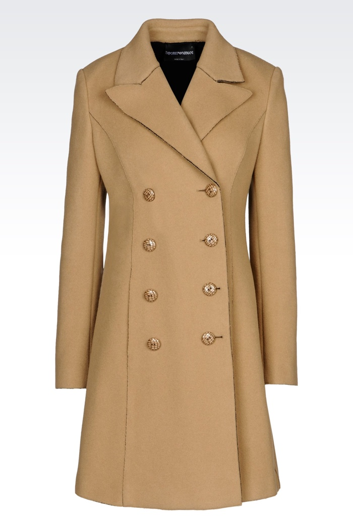 Emporio Armani Double Breasted Coat