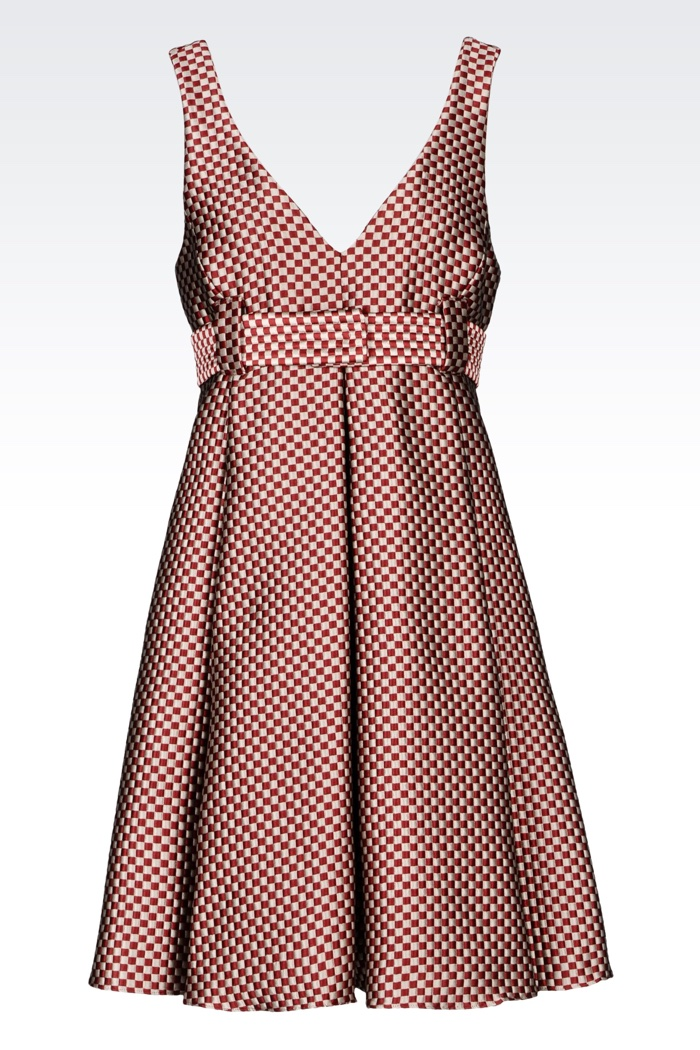 Emporio Armani Jacquard Mini Dress