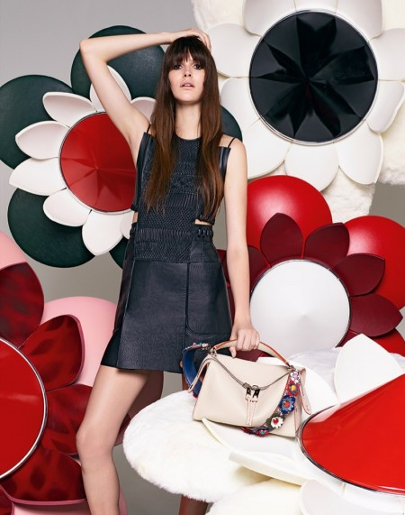 Fendi's Spring 2016 Campaign is All About Flower Power