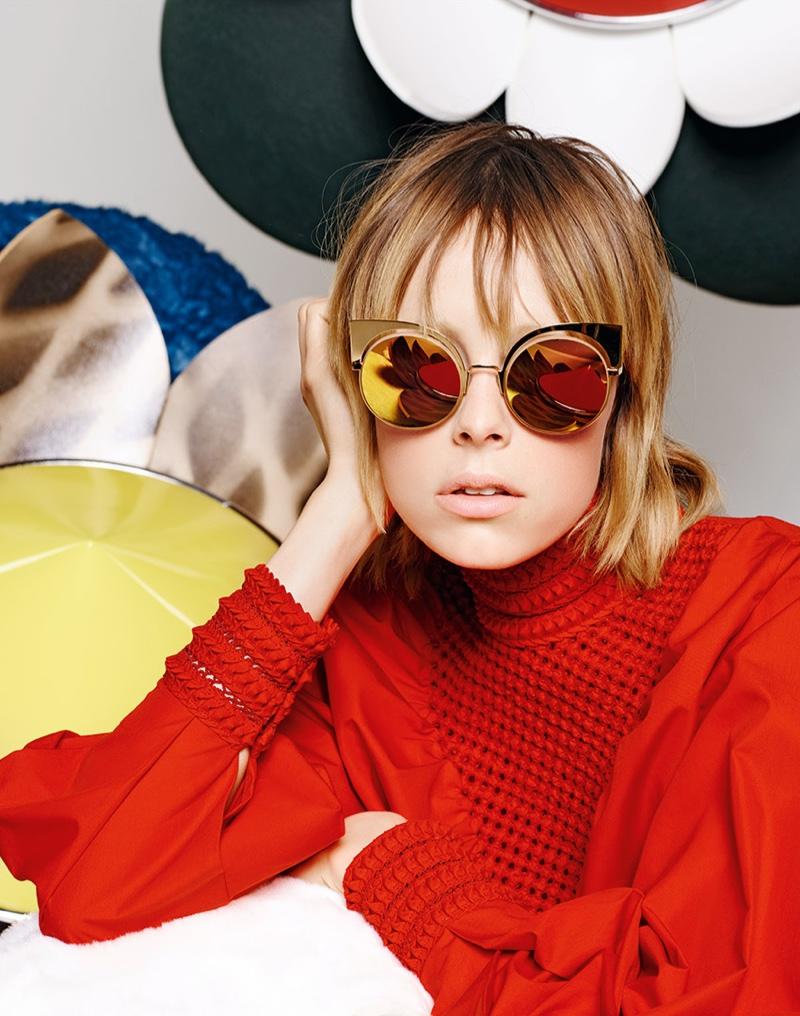 Fendi's spring 2016 eyewear campaign