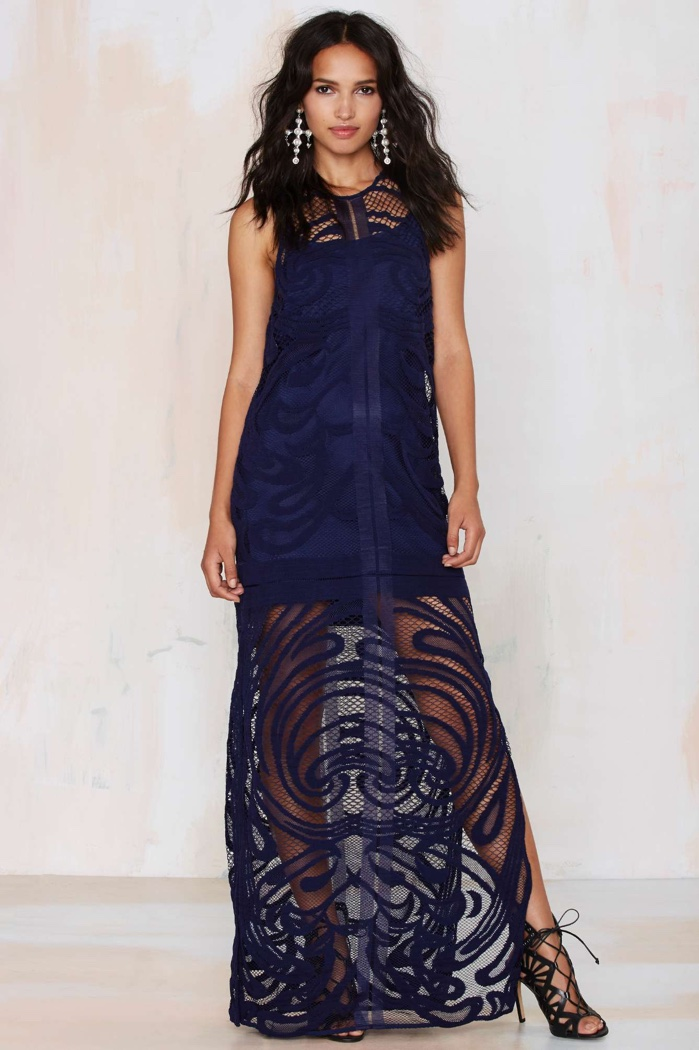 Boho Essentials: The Lace Maxi Dress