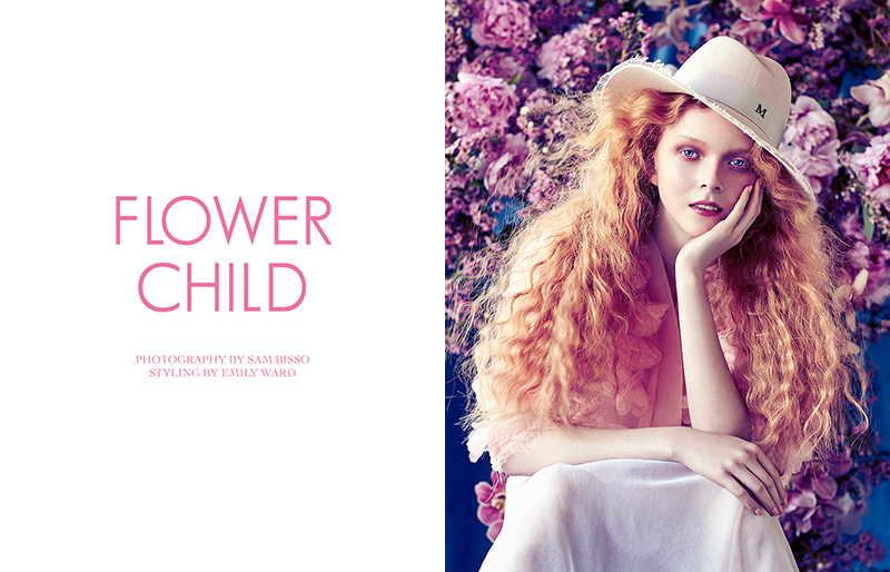 Exclusive: Lily Nova By Sam Bisso In Flower Child