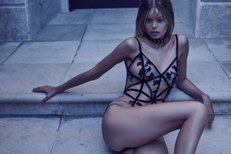 For Love & Lemons Shakes Up Lingerie with New 'Skivvies' Collection