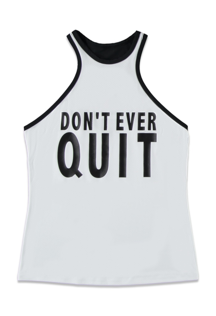 Forever 21 Don't Ever Quit Active Tank