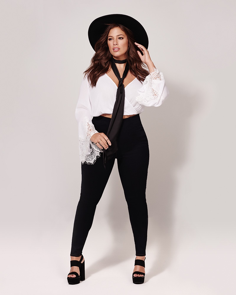 Ashley Graham for Forever 21 plus size activewear