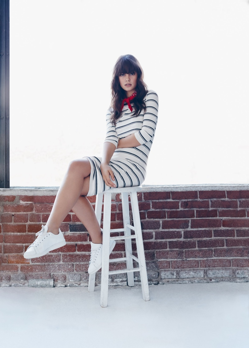 Courtney Eaton stars in Forever 21's spring 2016 campaign