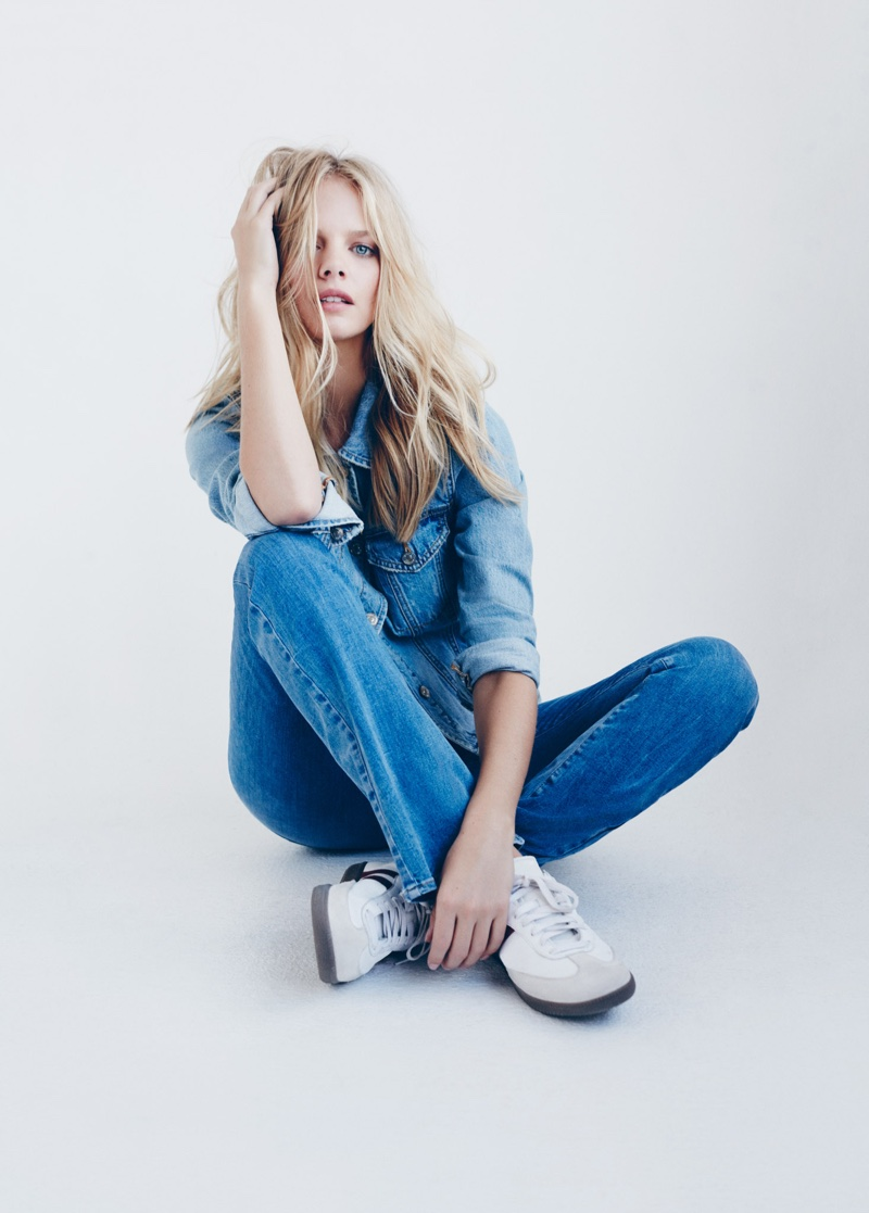 Marloes Horst stars in Forever 21's spring 2016 campaign
