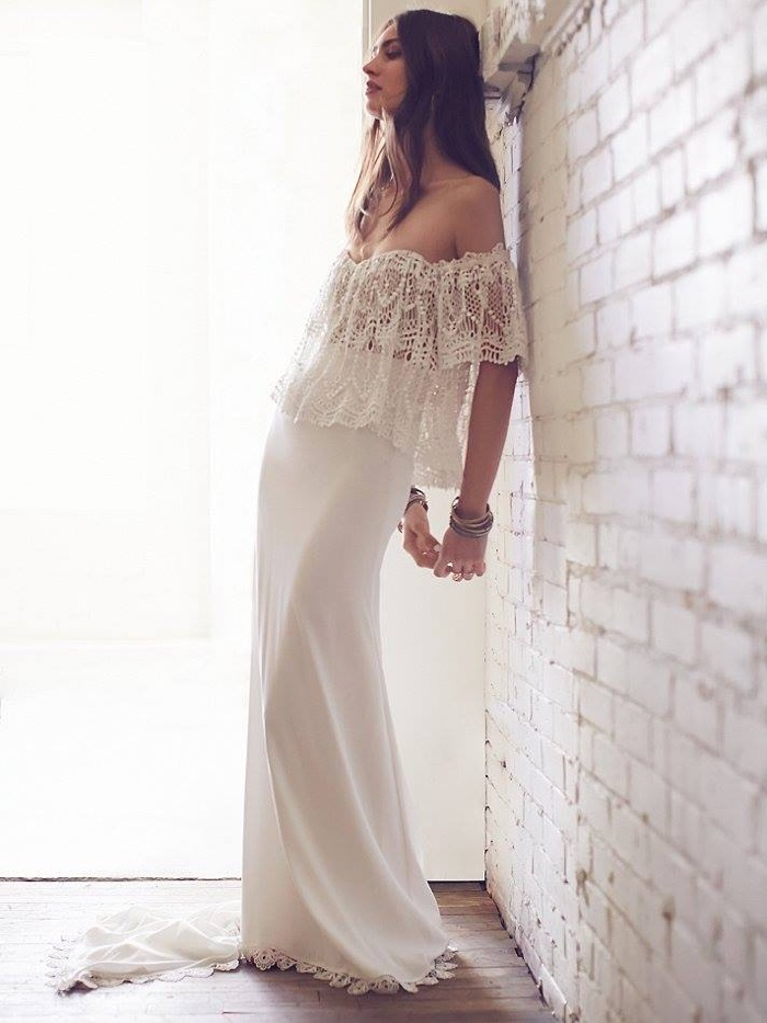 Free people bohemian bridal dresses shop for Wedding dress images free