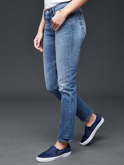 Gap 1969 Real Straight High Rise Jeans