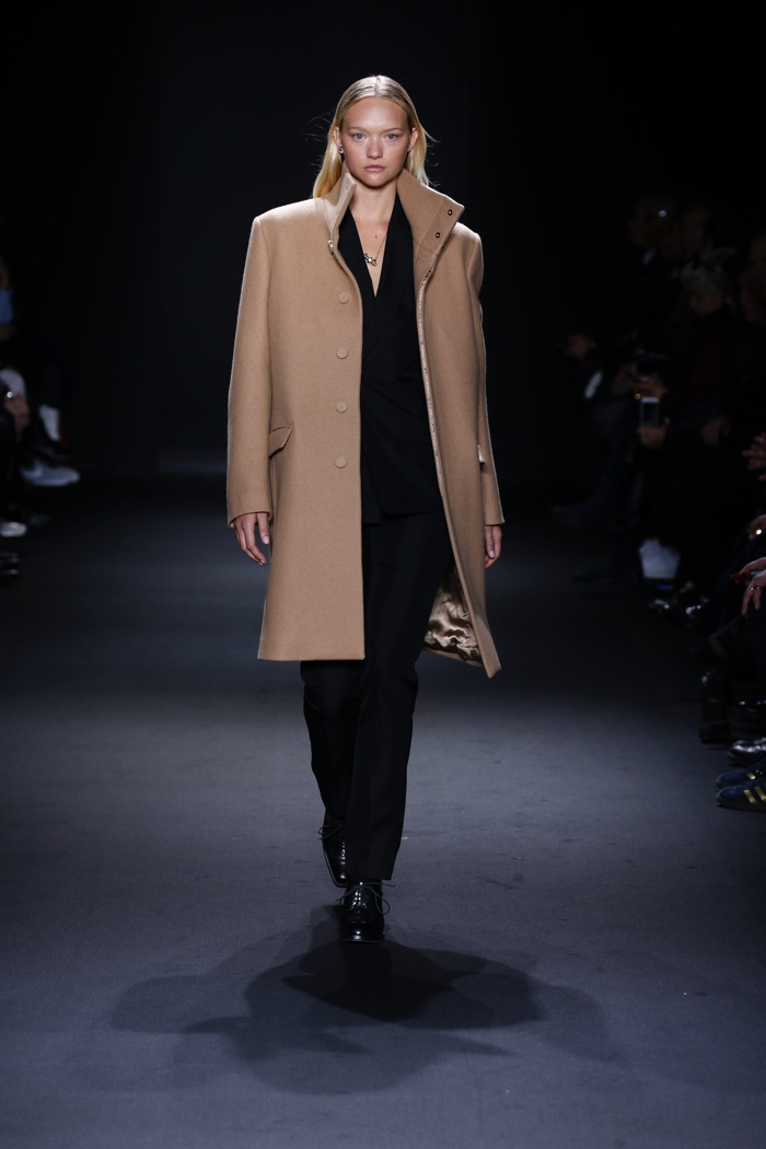 Gemma Ward, Mariacarla Boscono Suit Up At The Calvin Klein Men's Show
