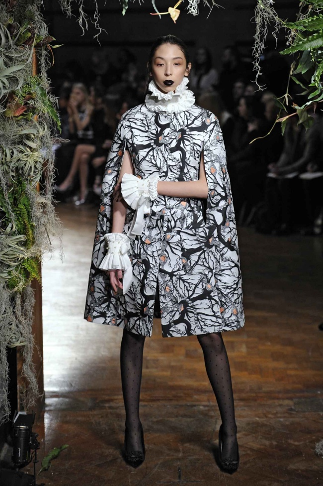 A look from Giles winter 2015 collection
