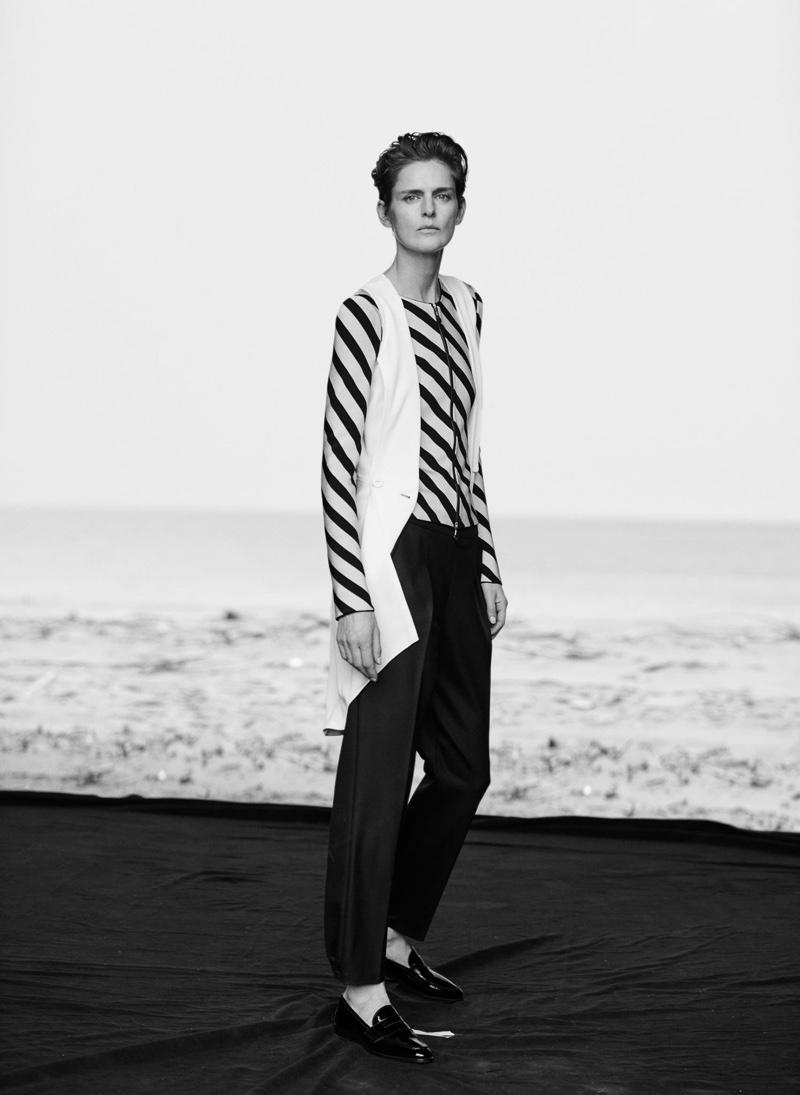 Stella Tennant stars in Giorgio Armani's spring-summer 2016 campaign